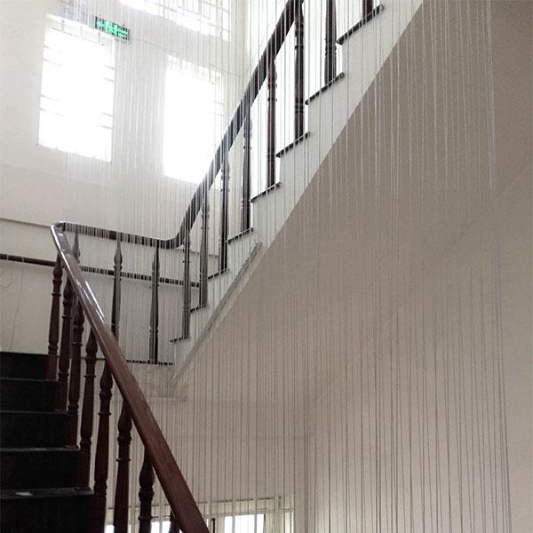Lưới an toàn cầu thang cho biệt thự